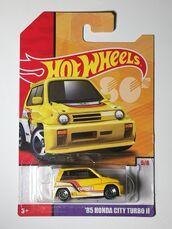 City Turbo 2 Yellow 19 Card
