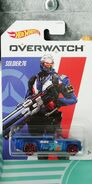 HW SOLID MUSCLE Overwatch SOLDIER 76