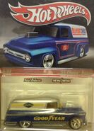 Delivery 2010 Slick Rides 03-34 '55 Chevy Panel 'Goodyear' Blue