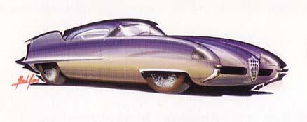 Prototipo Alfa Romeo B.A.T. 9