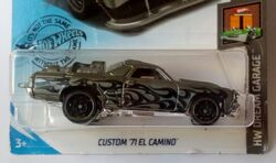 Details about  /2020 hot wheels ZAMAC custom 71 el camino and maroon  lot of 2