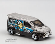 GCT19 - Hot Whels Ford Transit Coinnect-1