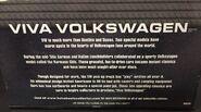 Viva VOlkswagen Back of package