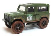 Land Rover Defender 90 green