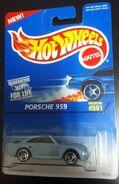1996 Porsche 959 light blue