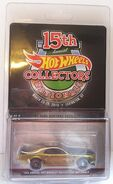 15th Hot Wheels Annual Collectors Nationals '69 Ford Mustang Boss 302 carded