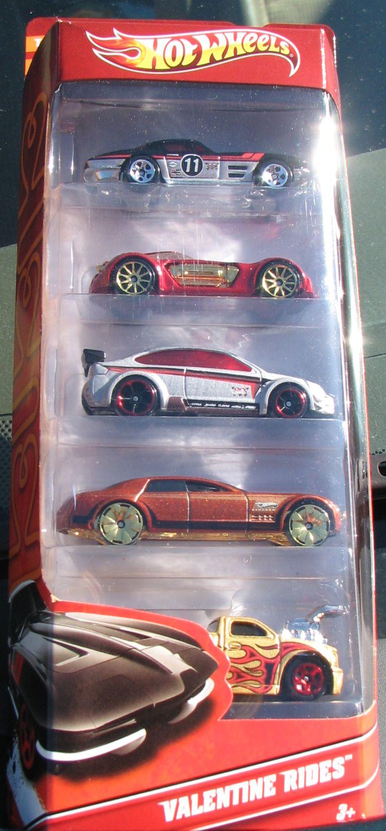Valentine Rides 5-Pack (2011)