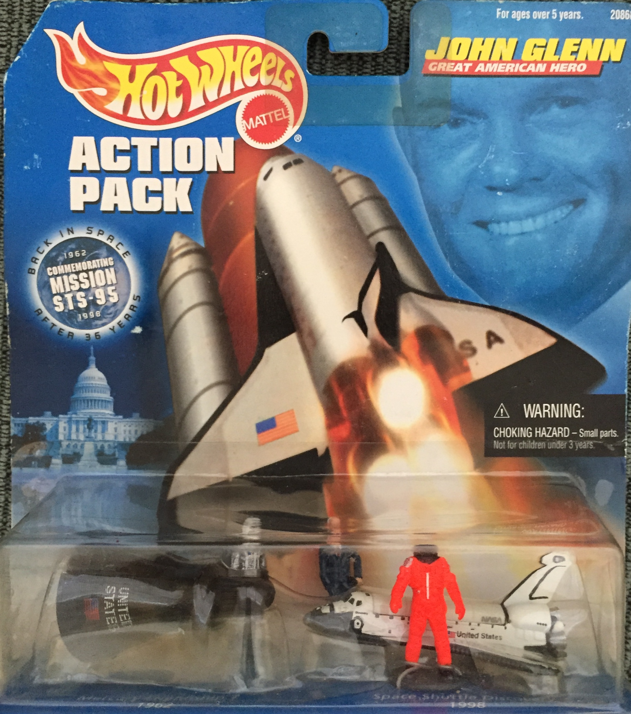John Glenn Action Pack