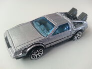 Back to the Future Time Machine side