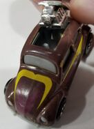 VW Bug Brown pop up top Camera