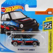 '85 Honda City Turbo II - FJW43 Card