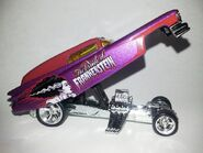 HW-Universal Monsters-'59 Cadillac Funny Car-The Bride Of Frankenstein..