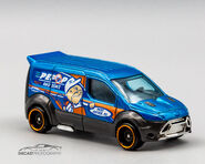 GRX79 - Hot Whels Ford Transit Coinnect (1)