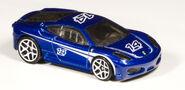 2010 Ferrari F430 Challenge Toys R Us Blue