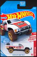 2021 Red Edition Toyota Off-Road Truck carded