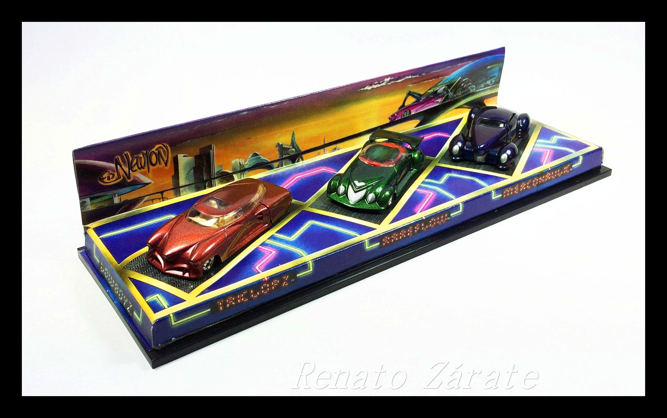 Ed Newton's Lowboyz 3-Car Set