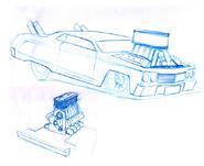 Impala Tooned Sketch