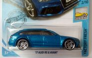(2) '17 Audi RS 6 Avant 2019 Factory Fresh 2-10 214-250