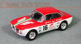 1:64 Alfa Romeo Giulia Sprint GTA Hot Wheels Car Culture by RACEFACE-MODELCARS