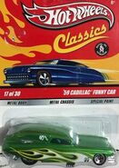 Classics 2009 Series 5 17-30 '59 Cadillac Funny Car -Mooneyes- Green