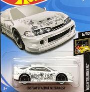 Custom 01 Acura Integra GSR White Boost Brigade