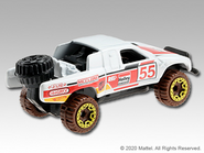 2021 Red Edition Toyota Off-Road Truck back