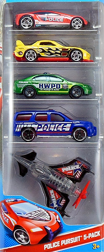 Police Pursuit 5-Pack (2013)