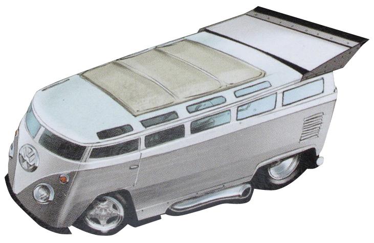 Volkswagen T1 Drag Bus