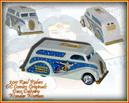 2011 HW Real Riders DC Comics Originals Deco Delivery Wonder Woman
