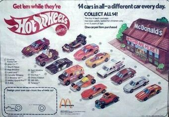 McDonald/'s Happy Meal Batman Toys 1991 Coupe Roadster Car NEW Complete Set of 4