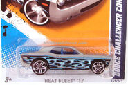 Dodge Challenger Concept Gray Flames