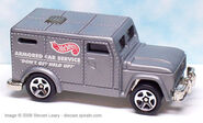 Hot Wheels Police Force Action Pack Armored Truck