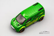 CFL65 - Hot Wheels Ford Transit Connect-1-2
