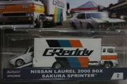 Nissan Laurel 200 SGX y Sakura Sprinter