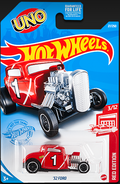 2021 Red Edition '32 Ford carded