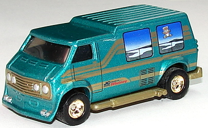 Custom Hot Rod Van