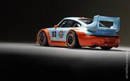 2016 RLC Gulf Racing Porsche 993 GT2 4
