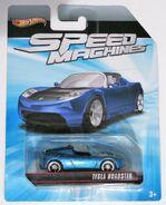 009c,SpeedMachines,TeslaRoadster,Blue-Black