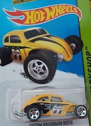2014 247-250 HW Workshop - Performance - Custom Volkswagen Beetle -Mooneyes- Yellow