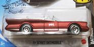 TV Series Batmobile Matte Maroon Kroger exclusive