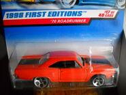 70 Roadrunner Orange 5Dot Wheels