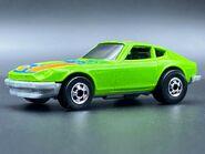 Hot Wheels Speed Machines Green Z Whiz (1)