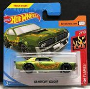 2019 Hot Wheels'68 Mercury Cougar $TH carded