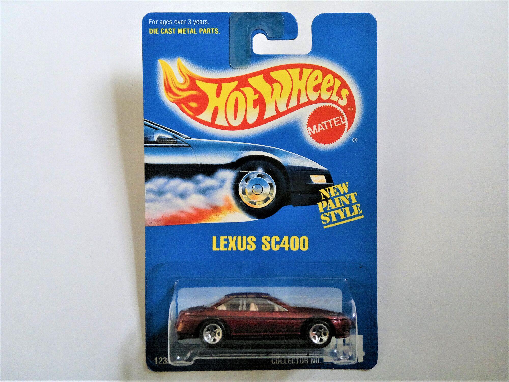 Hot Wheels Lexus SC400 #163 Gold