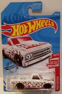 2019 Hot Wheels '67 Chevy C10 Red Edition