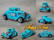 3-Window '34 Ford