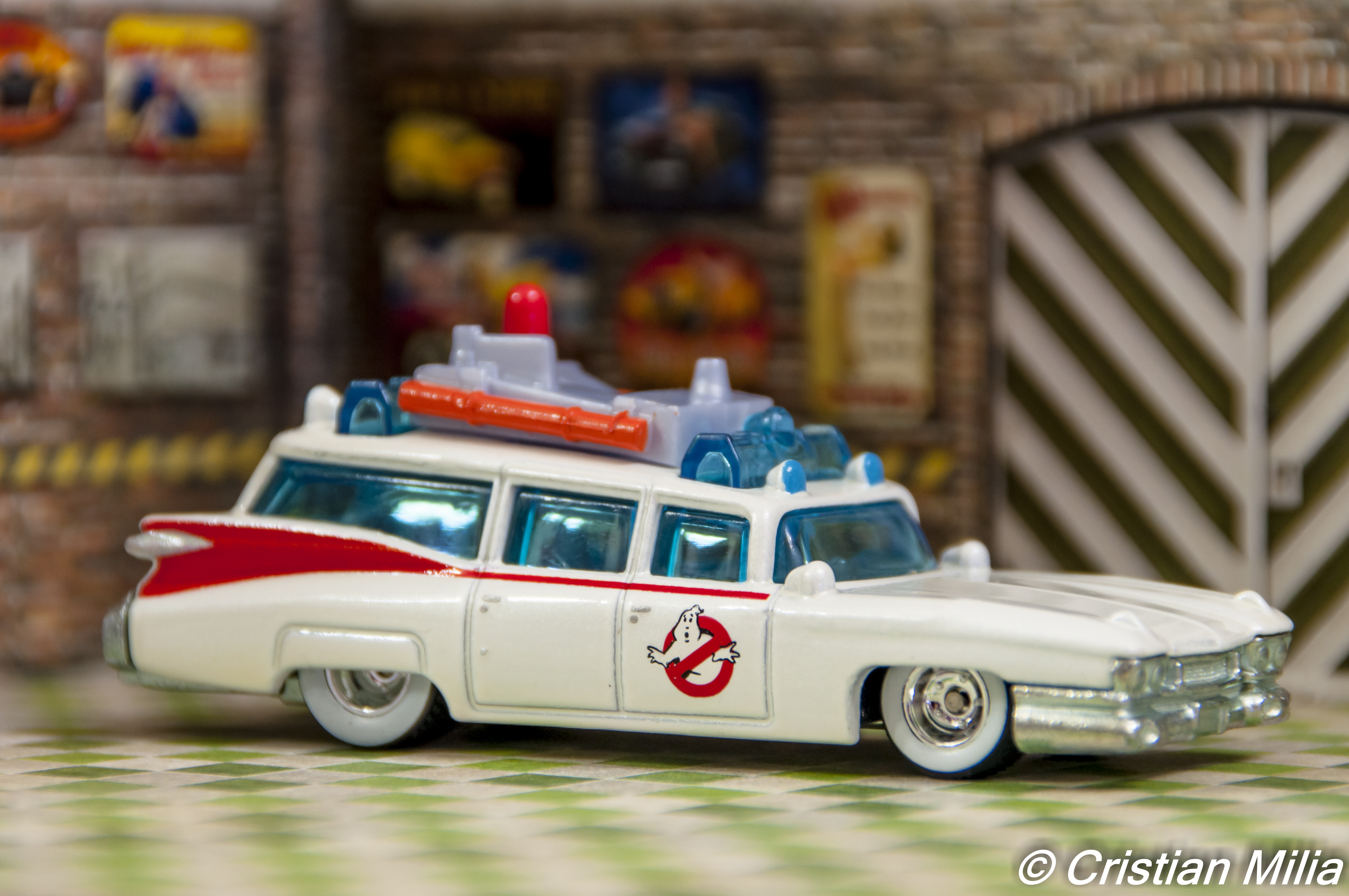 Ecto-1 Ghostbusters Cartoon Car