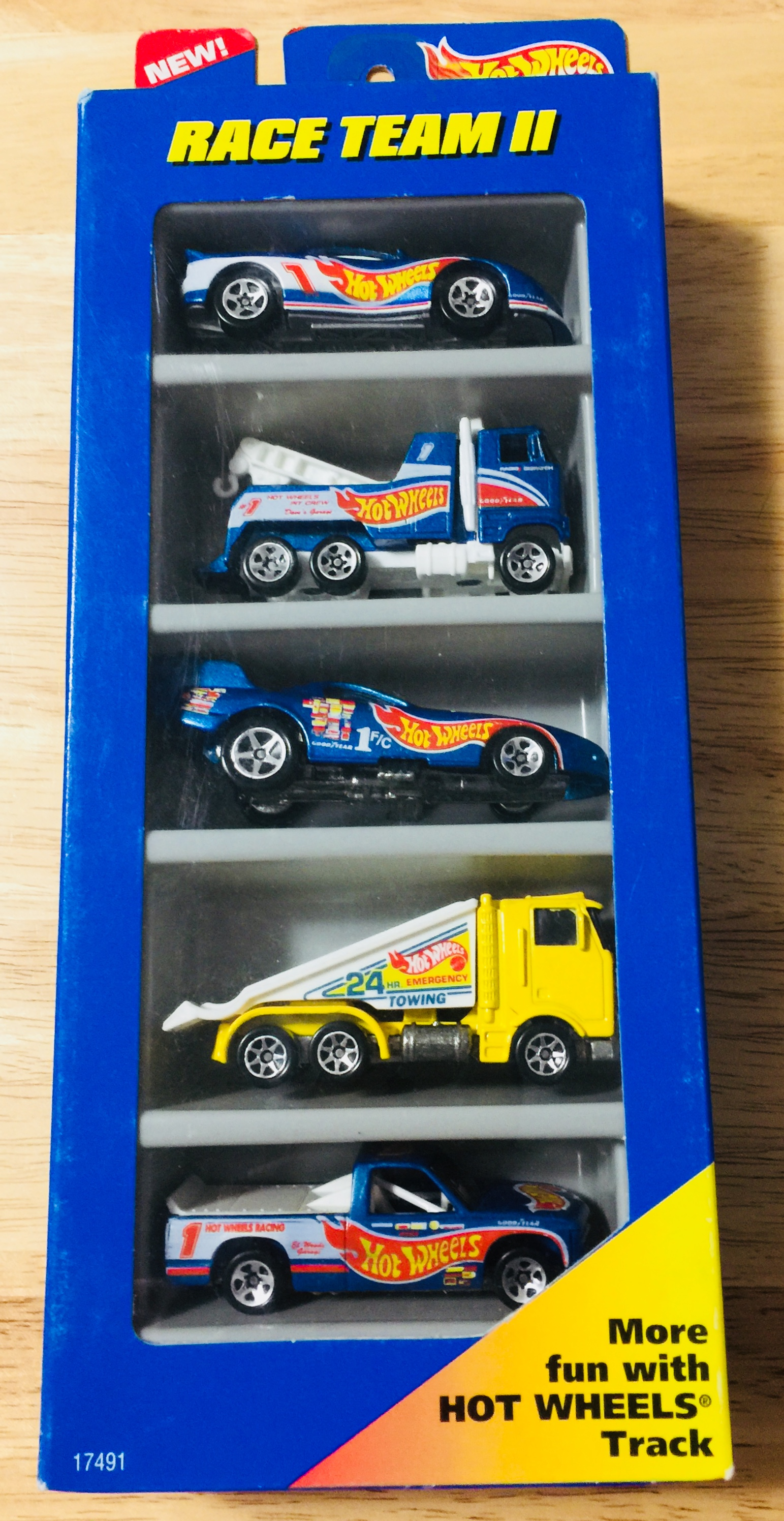 Race Team II 5-Pack