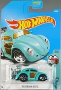 Volkswagen Beetle (tooned) - DTX50 Card