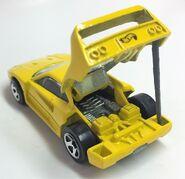 Ferrari F40. Yellow. 5SP. Open lid1